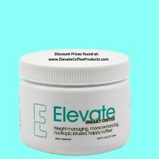 Elevate Smart Coffee by Elevacity - 30 Serving Tub, 4.7 oz - Authentic