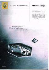 Publicité Advertising 2001 Renault Twingo Cinetic