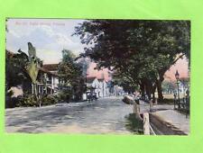 Light Street Penang Strait Settlements Malaya pc used 1906 A Kaulfuss