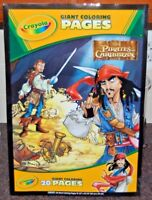 VINTAGE NEW SEALED  Disney Pirates of the Caribbean Giant 20 Page Coloring Book