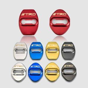 Door Lock Cover 4pcs Car Sticker TRD - Toyota Racing Development US SHIP