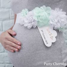 FLORAL MUM TO BE SASH - Hello World Range - Baby Shower Gift