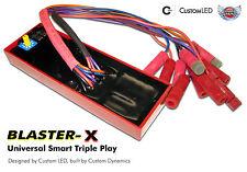 Run Brake Turn Control Module with Brake Strobe Modulator! Smart Triple Play