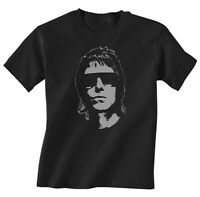 LIAM GALLAGHER KIDS MUSIC T SHIRT BOYS GIRLS OASIS NEW TOP GIFT W30