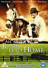 All Roads Lead Home (DVD) Peter Boyle, Peter Coyote - Brand New Sealed