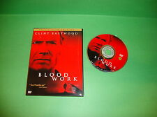 Blood Work (DVD, 2002, Full Frame)
