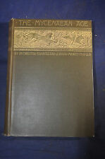 1897 *FIRST* The Mycenaean Age: Study of Monuments & Culture Pre-Homeric Greece
