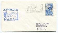 1964 Apollo NASA Germany Bodou Centre de Communications Berlin Space Cover