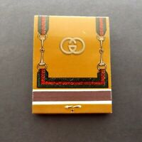 Vintage GUCCI MATCHES Matchbook, Bar accessory,Great  Gift, match book