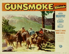 Audie Murphy     GUNSMOKE    DVD        1953