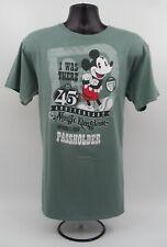 Euc Disney World Magic Kingdom 45th Anniversary I Was There Passholder Shirt Xl
