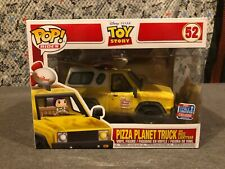 Funko POP Rides Toy Story Pizza Planet Truck #52 2018 Fall Con Exclusive NEW