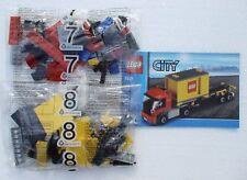 LEGO® Eisenbahn - roter LKW mit Container aus 7939 - NEU 1