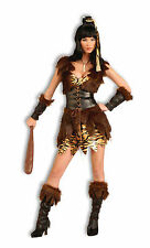 Womens Cave Cutie Costume Caveman Pre Historic Adult Size Standard