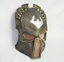 Paintball Airsoft Full Face Protection Alien Vs Predator Mask Cosplay Prop A0035