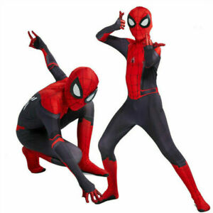 Kids Boys Spider-Man: Far From Spiderman Home Cosplay Costume Adult Outfit