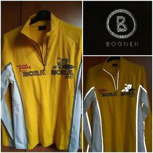 Bogner BORA BORA Culcha Caribe Jersey.Long Sleeve.Yellow/Reflective tape.Large
