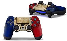 SONY PS4 PlayStation 4 Mando forro conjunto de láminas de protección (2 pieza) -
