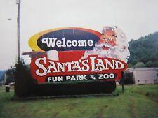 SANTA'S LAND ENTRANCE PHOTO CHEROKEE RESERVATION GREAT SMOKY MOUNTAINS PARK NC.