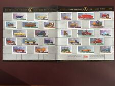 Canadian Stamp Souvenir Sheet - 1996 HISTORIC LAND VEHICLES COLLECTION - 5(1605)