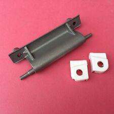 CREDA TUMBLE DRYER Door Hinge Kit - Alloy Hinge & Plastic Seat Bearings x2