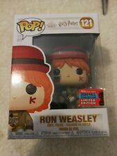 RON WEASLEY NYCC 2020 CONVENTION EXCLUSIVE FUNKO POP HARRY POTTER #121 IN HAND