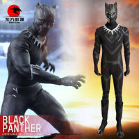 DFYM Captain America 3 Civil War Black Panther Cosplay Costume Customize