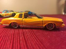 2001 Hot Wheels Yellow Montezooma 78 79 Monte Carlo Low Rider Loose