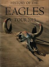 Eagles 2013 History Tour Concert Program Book / Glenn Frey Don Henley / Ex 2 Nmt