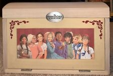 Hallmark American Girl Doll Historical Wooden Chest Jewelry Box