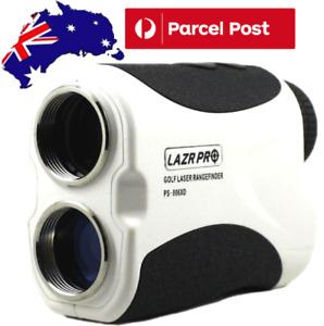 LAZRPRO GOLF LASER RANGE FINDER EXTRA LONG POWERFUL LASER - WHITE - BEST SELLER