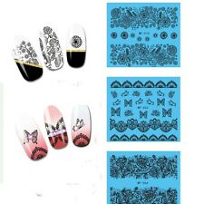 MF001 036 PIZZO adesivo unghie Stickers nail art LACE DENTELLE decals POLISH