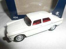 NOREV 3 INCHES  PEUGEOT 404 BLANC