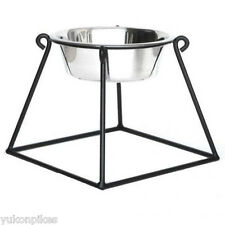 Pyramid Pet Diner Elevated 1-Bowl Raised Dog Food Feeder