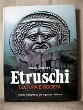 ETRUSCHI: Cultura e Societa; Mauro Cristofano; Italian text; Hardback; 1981