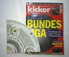 Kicker Sonderheft zur Bundesliga-Saison 2010/2011 mit Kulttabelle neu Schale