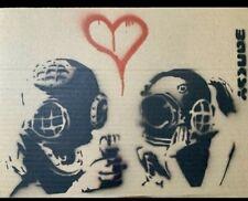 Genuine Banksy Spraypaint Make Offer!!!