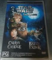 STAR WARS Ewok Adventures CARAVAN OF COURAGE / THE BATTLE FOR ENDOR (Region 4)