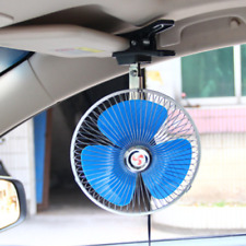 8 inch 12V Portable Dashboard Vehicle Auto Car Cooling Oscillating Fan Clip-On