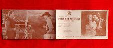 CAPTAIN FURY 1940' AUSTRALIAN ROBIN HOOD HAL ROACH B. AHERNE EXYU MOVIE PROGRAM