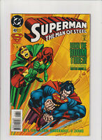 Superman The Man of Steel #43 NM- 9.2 DC Comics 1995 Mister Miracle app.