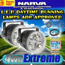 NARVA 71930 LED DAYTIME RUNNING LAMP KIT INC WIRING, L.E.D 12 & 24 VOLT LIGHTS