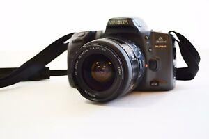 【Near Mint 】Minolta α 303 SI SUPER SLR  W/AF Zoom 28-80mm F4-5.6 *Free Shipping*