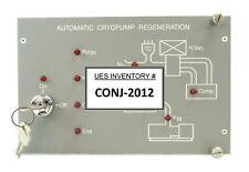 Varian 106564001 Automatic Cryopump Regeneration Controller Rev 1 Working Spare