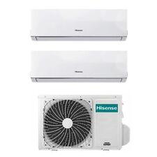 Climatizzatore Dual Split Inverter Hisense 18+18 18000+18000 Btu 3AMW70