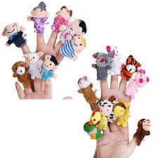 18 Stück Fingerpuppen Set Familie zum Spielen oder Lernen für Kinder Handpuppe