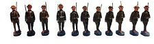 Elastolin, 11 Doughboy Soldiers Pre-War 1930's Antique Vintage Toy German