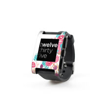 Skin for Pebble Smart Watch - Blush Blossoms by Sara Berrenson - Sticker Decal