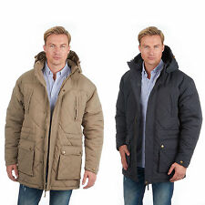 Urban Revival Mens Parka Coat Jacket Micro Quilted Water Wind Resistant Hooded 2xl 47-49in Dark Stone