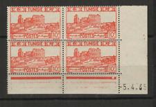 Tunisie RF Y&T N° 291 4 timbres neufs coin daté 5.4.45 /T3531